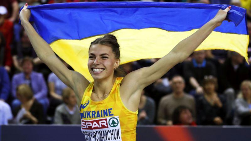 Украинская прыгунья Марина Бех-Романчук выиграла серебро на чемпионате мира по легкой атлетике