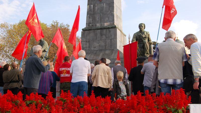 На митинге КПРФ в Севастополе заявили, что в России установлен «оккупационный фашистский режим» (+фото, видео)
