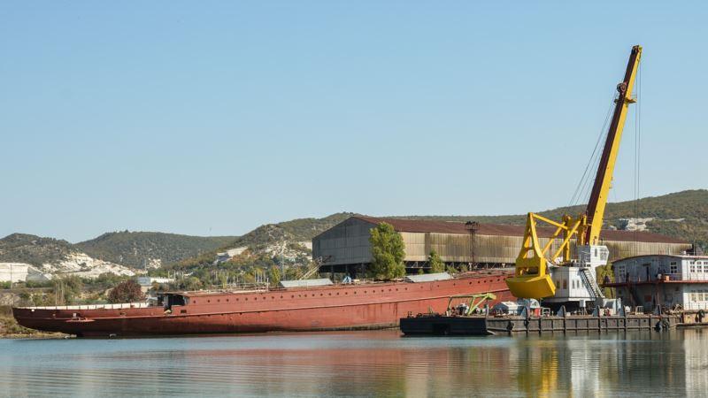 В Инкермане немецкое судно «Ангара» готовятся разрезать на металлолом – СМИ