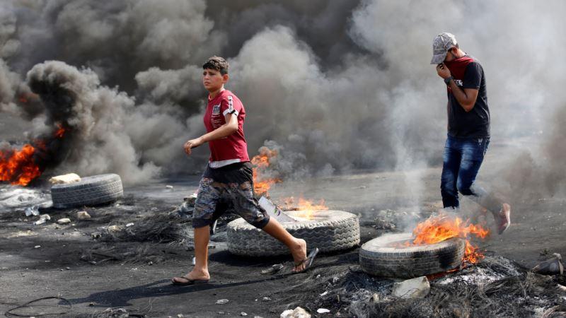 Количество погибших во время протестов в Ираке достигло 100 человек