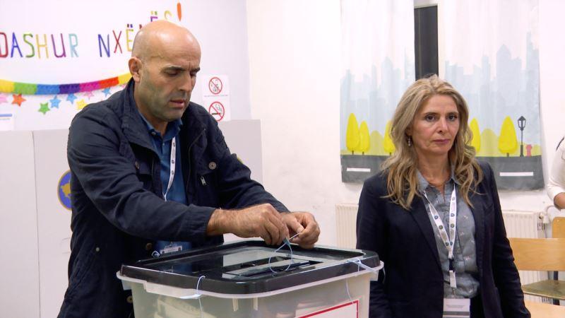 На парламентских выборах в Косово объявили первые результаты
