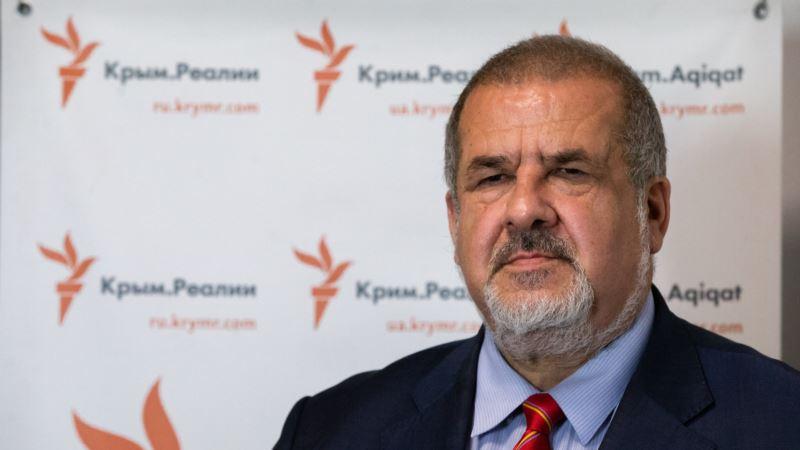 Чубаров раскритиковал высказывания Сайдика о Крыме, «оправдывающие аннексию»