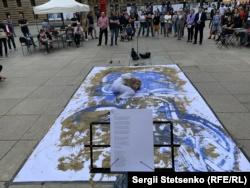 В Праге показали театральный перфоманс о жизни в аннексированном Крыму (+фото)