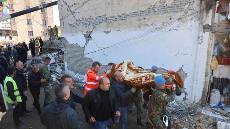 Землетрясение на Балканах: погибли не менее 20 человек, сотни пострадавших