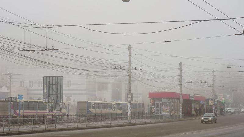 Погода в Крыму: туман и ветер