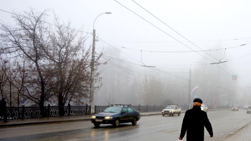 Российская полиция в Крыму требует снизить скорость на дорогах из-за непогоды