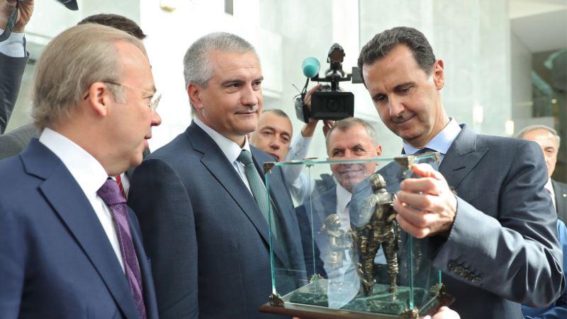 В Крыму сообщили о приезде «представителей бизнеса» из Сирии