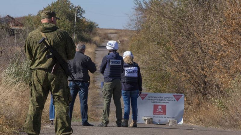 Разведение сил у Петровского должна начаться 8 ноября – ООС