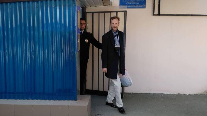Ялтинский блогер Гайворонский: «В изоляторе посоветовали набить себе на лбу «Слава Украине»
