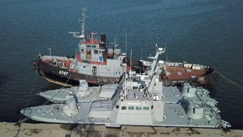 Захваченные Россией военные корабли разграбили мародеры – начальник Генштаба ВСУ
