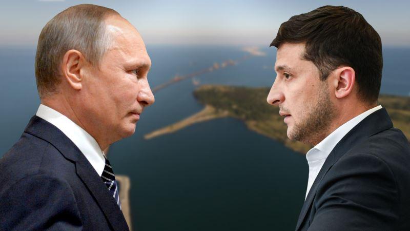 Зеленский поговорил с Путиным о возвращении украинских кораблей