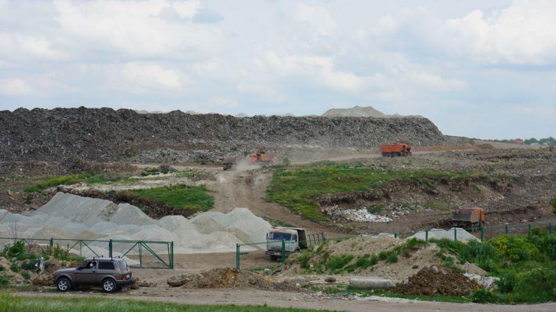 Симферополь: мусорный полигон в Каменке больше не горит и не воняет – власти