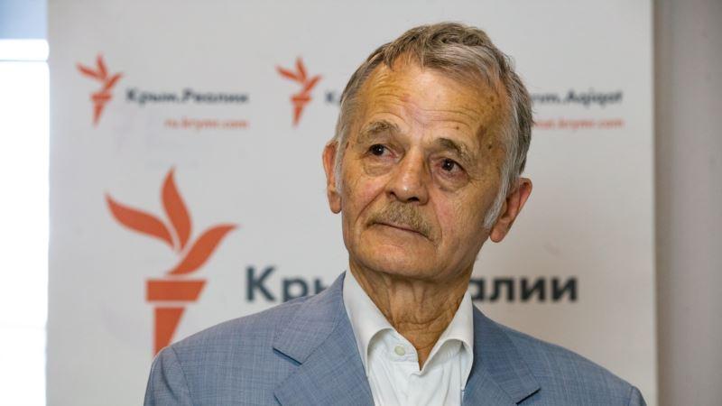 Джемилев на форуме в Киеве рассказал о нарушении прав человека в Крыму