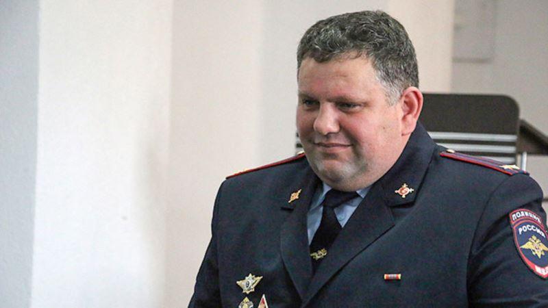 В Керчи назначили нового начальника управления российского МВД