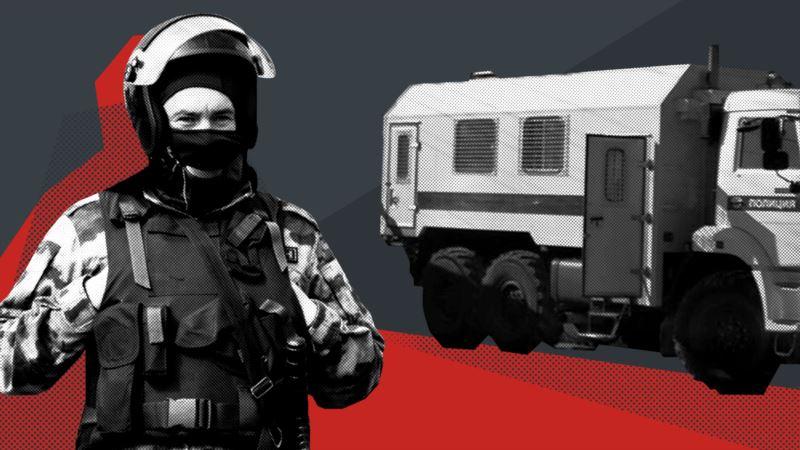 В Крыму российские силовики пришли с обыском к делегату Курултая