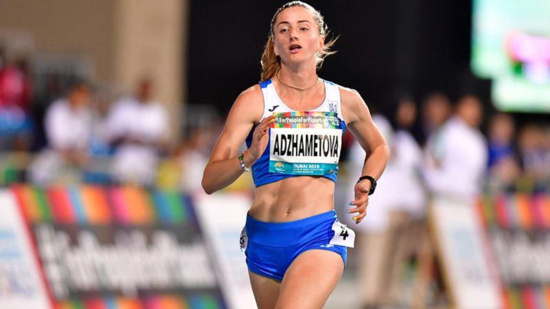 Крымскотатарская бегунья выиграла «золото» на паралимпийском чемпионате мира