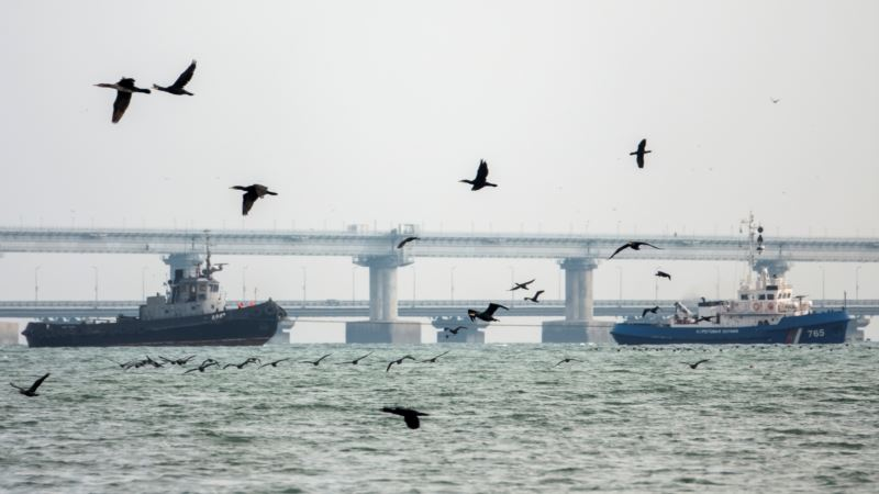Украине передали захваченные у берегов Крыма военные корабли  – МИД России