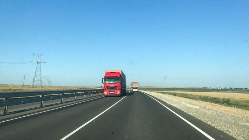 В Крыму поменяли схему движения на «Тавриде» из-за новой дорожной развязки