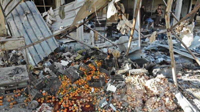 Сирия: 15 мирных жителей погибли из-за авиаудара с участием России – правозащитники
