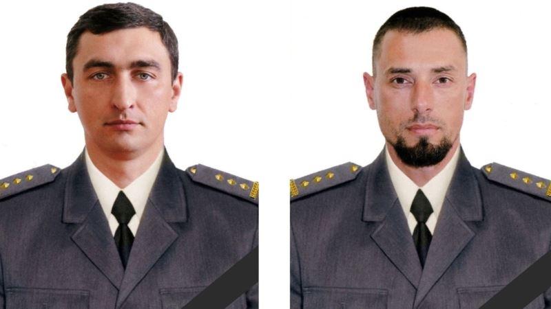 Двум полковникам, погибшим 1 декабря на Донбассе, присвоено звание Героя Украины