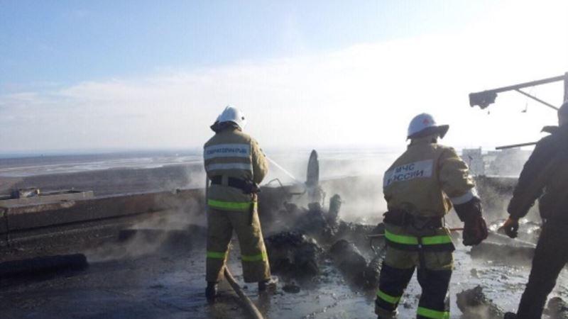В Крыму за неделю произошло 24 пожара и 13 аварий на дорогах – МЧС