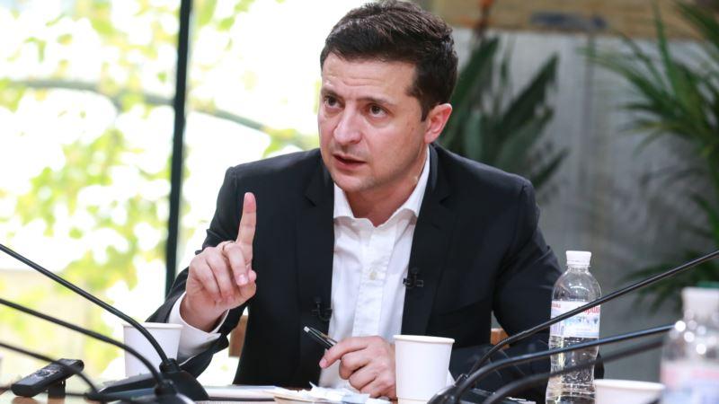 Зеленский cозовет закрытое заседание СНБО перед встречей в «нормандском формате»