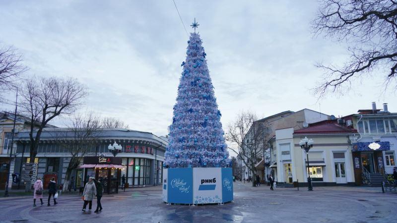 На Новый год в Крыму прогнозируют мороз и мокрый снег