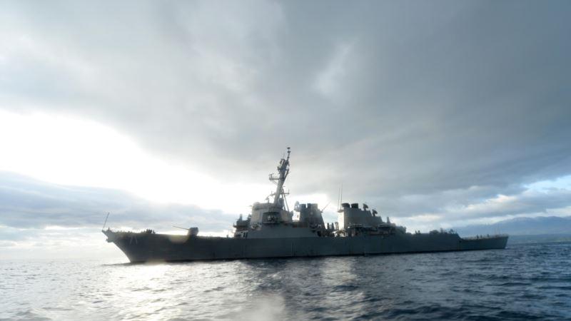 Ракетный эсминец ВМС США зашел в порт Одессы
