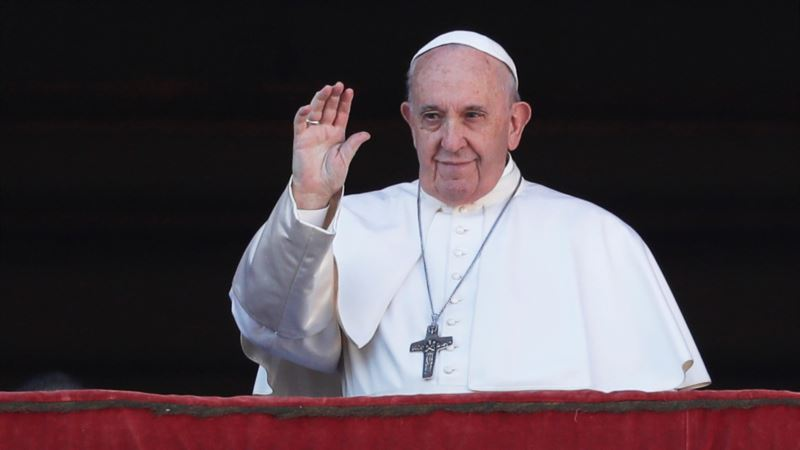 Папа Римский 8 февраля встретится с Зеленским