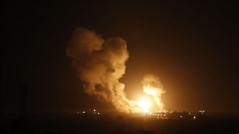 Израиль атаковал цели в секторе Газа и на юге Дамаска