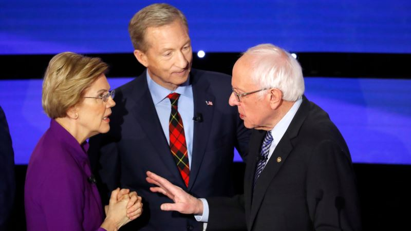 Выборы президента США: в штате Айова голосуют за кандидата от демократов