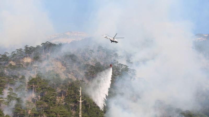 МЧС России объявило о начале пожароопасного сезона в Крыму