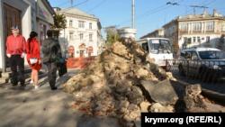 В центре Севастополя – новые ограничения для движения транспорта
