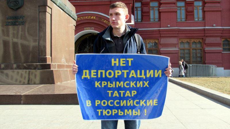 «Свободу Котову»: Сенцов поддержал российского активиста, выступавшего против аннексии Крыма