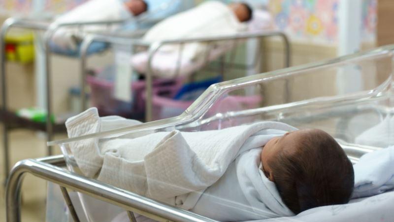В Крыму снизилась рождаемость – власти