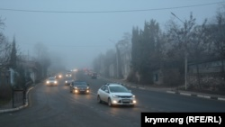 Утренний Севастополь окутал туман (+фото)