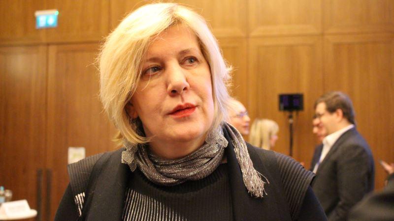 В МИД Украины рассказали условия визита Миятович в Крым