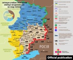 Боевики 6 раз обстреляли позиции украинских военных на Донбассе, потерь нет – штаб
