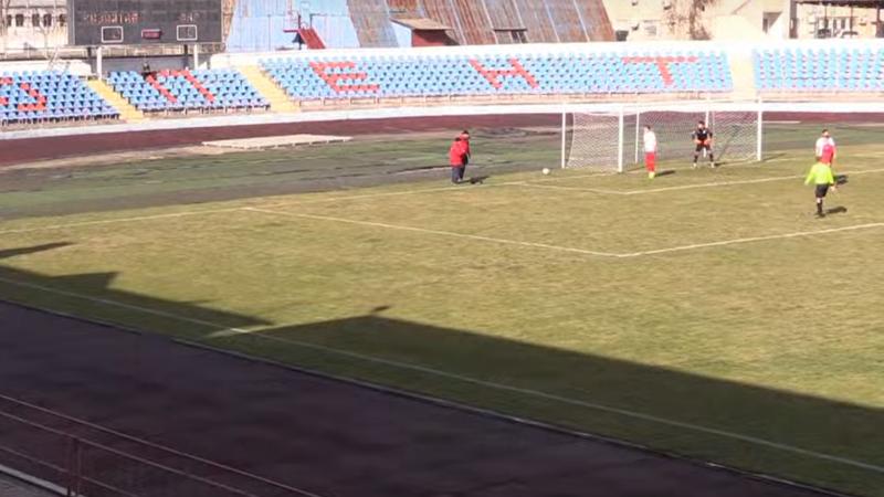 В Крыму «сборная «ДНР» проиграла «Кызылташу» при пустых трибунах