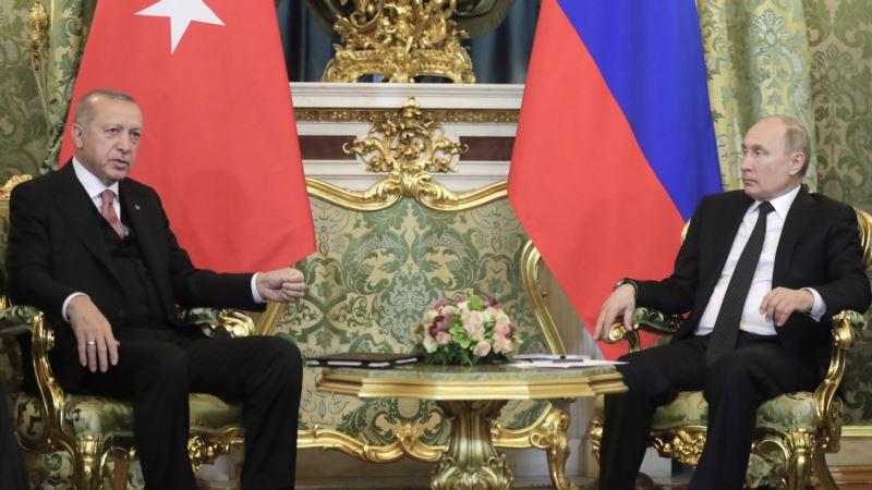 Эрдоган призвал Путина не мешать турецким военным в Сирии