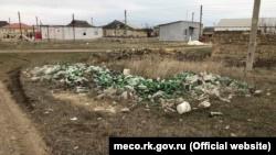 В Евпатории нашли пять несанкционированных свалок (+фото)