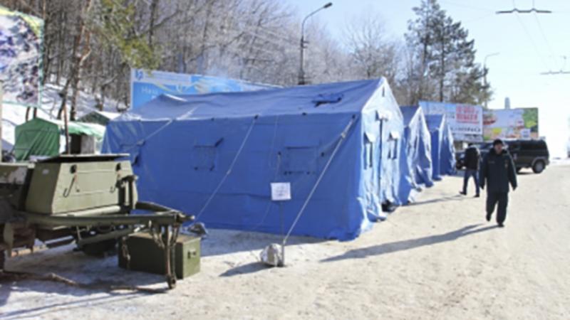 В Севастополе готовятся к заморозкам, устанавливают пункты обогрева