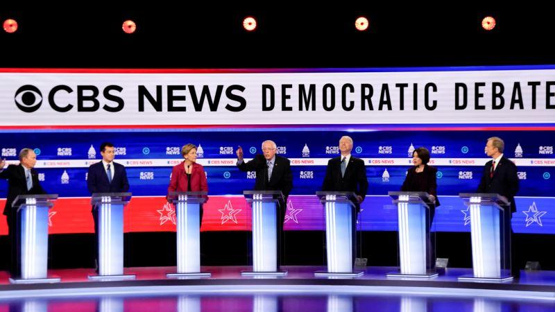 Выборы в США: Байден опережает Сандерса на праймериз в Южной Каролине