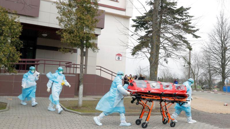 Минск окропили святой водой с вертолета, чтобы «умиротворить вирус»