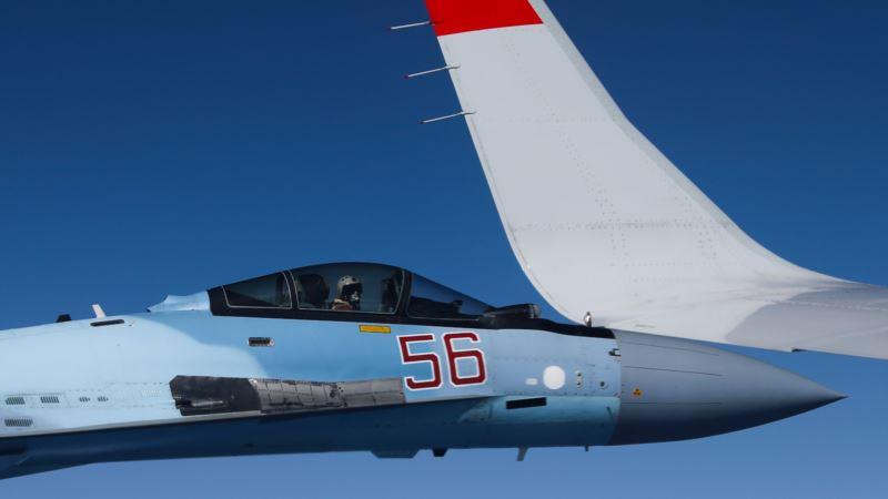 СМИ сообщают о крушении российского Су-27 у берегов Крыма