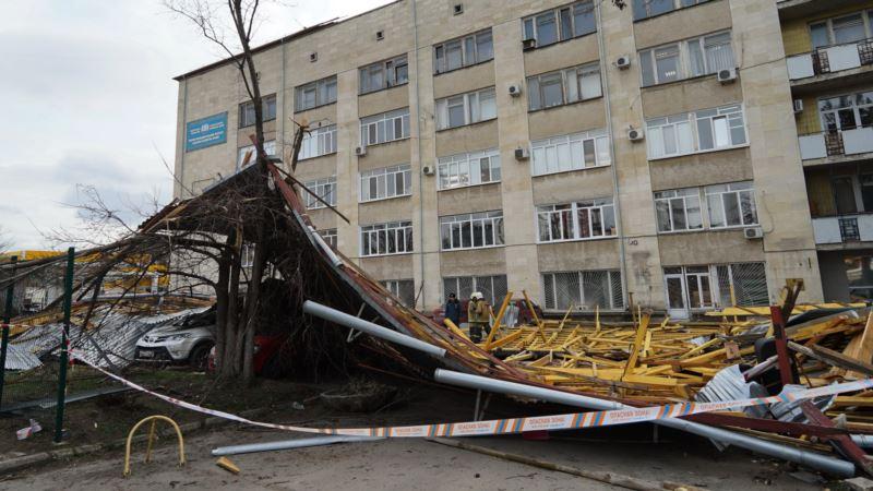 В Крыму синоптики предупреждают о штормовом ветре
