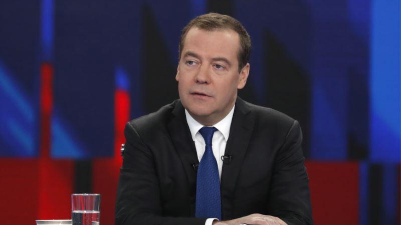 Россия: Медведев выступил с обращением по поводу коронавируса