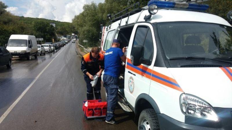 За неделю в Крыму погибло в ДТП 5 человек