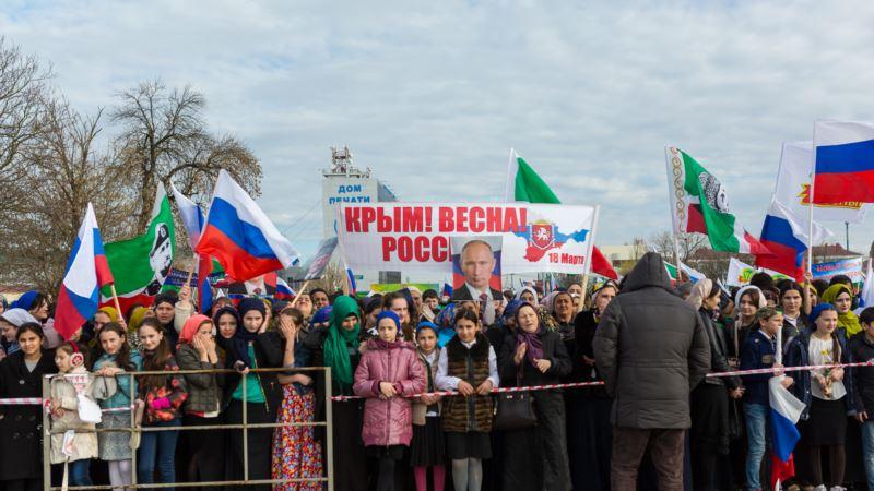 Аннексию Крыма в Москве «отметят» концертами Михайлова, Лепса и Валерии