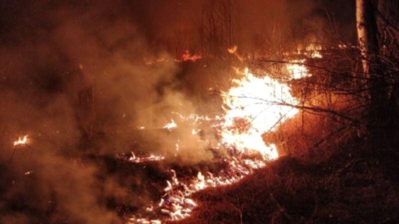 В Крыму объявили штормовое предупреждение о высокой пожарной опасности